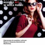 Rozlicz podatek w przerwie w zakupach w Wola Parku